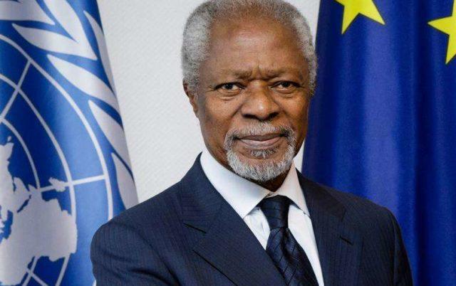 Kofi Annan was a proud son of Africa – UN