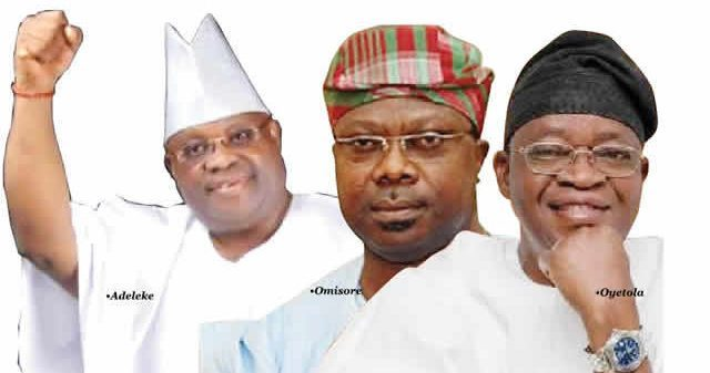 Osun guber: Adeleke, Oyetola Omisore, others in grand battle