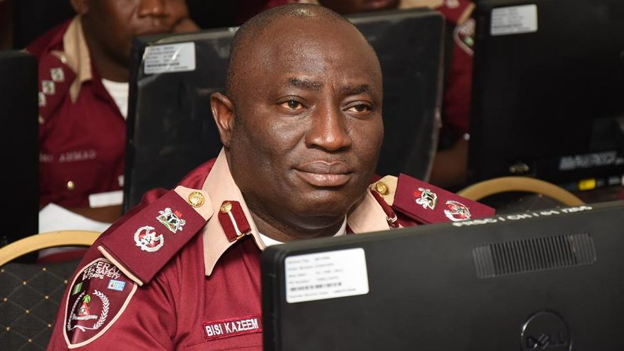 JUST IN: FRSC promotes Bisi Kazeem, 9 others to ACM, 32 to CM