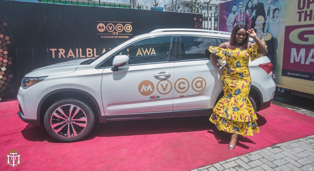 AMVCA:  Bisola gets SUV prize for Trail Blazer Award