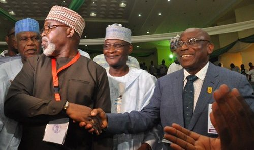 NFF election: Pinnick emerges president for second term