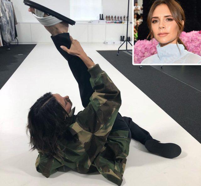 Fashion show: Victoria Beckham storms London