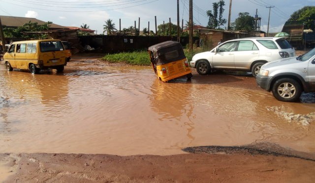 Flooded roads: Ijoko-Lemode community sends SOS to Amosun