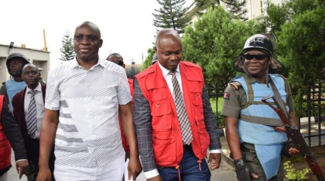 Bail conditions: Fayose, former Ekiti gov spends weekend in prison