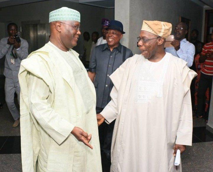 2019: Obasanjo makes U-turn, declares support for Atiku