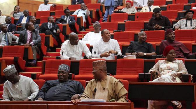Senate adjourns plenary, to resume November