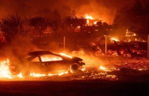 Fire outbreak in Ijegun, Lagos as pipeline explodes