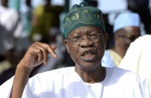 Akinyele's death, a monumental loss –Lai Mohammed