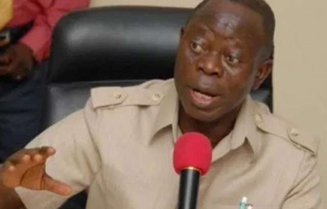Buhari's signing bill in London has made several statements -Oshiomhole