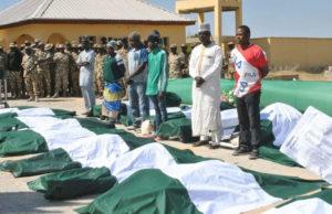 Boko Haram: Army buries soldiers killed in Metele attack