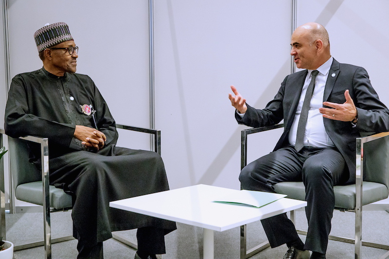 Buhari, Swiss president strategise on release of remaining Chibok girls, others