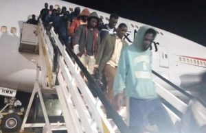 153 stranded Nigerians brought back home from Libya