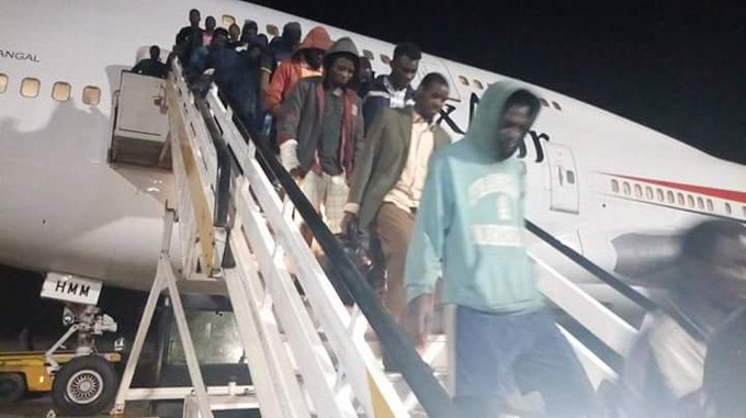 Libya: Fresh batch of 168 stranded Nigerians return home