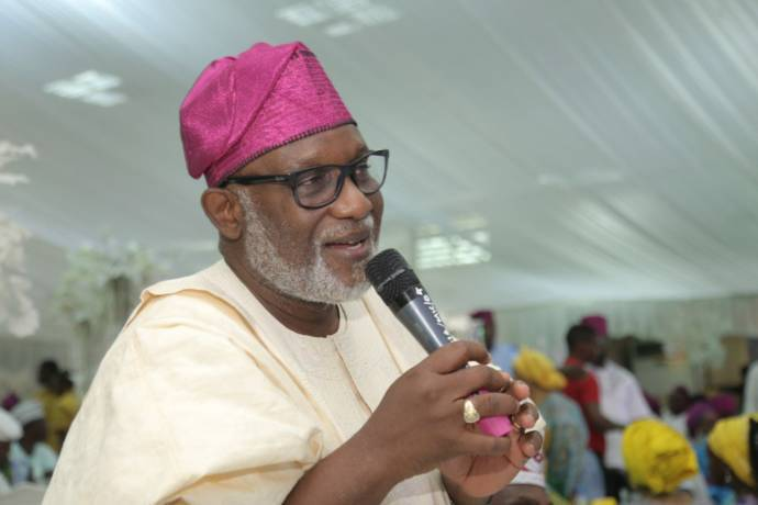 Akeredolu raises the alarm, alleges plot to blackmail him