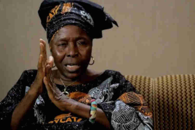 Buhari mourns Oluwole, says she celebrated culture, history, worldview