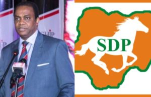 2019: Why we replaced presidential running mate –SDP