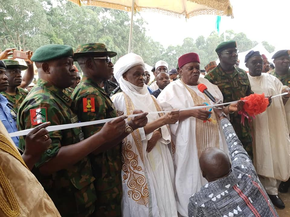 Army's forward operation base, Gembu, commissioned