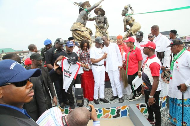 Giving back to society helps develop communities –Okowa