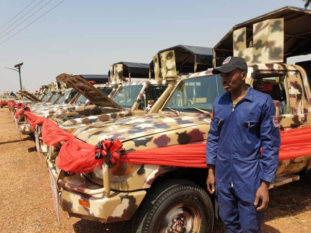 NAVMC refurbished vehicles as game changer in fight against Boko Haram –Army