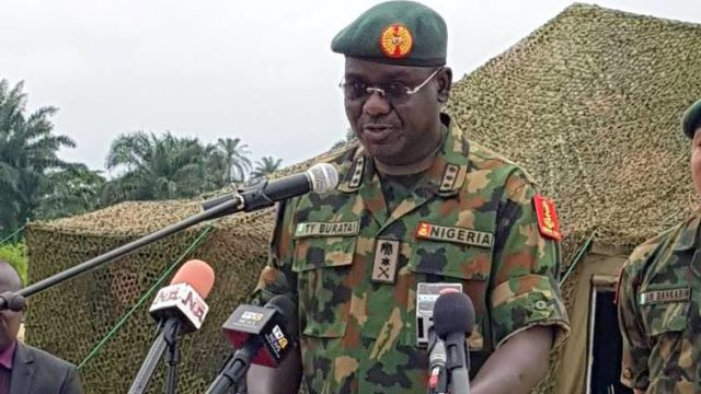 Why we got into trouble in 2019 general elections –Army