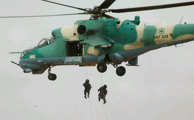 How we destroyed terrorists' ammunition-laden trucks -NAF