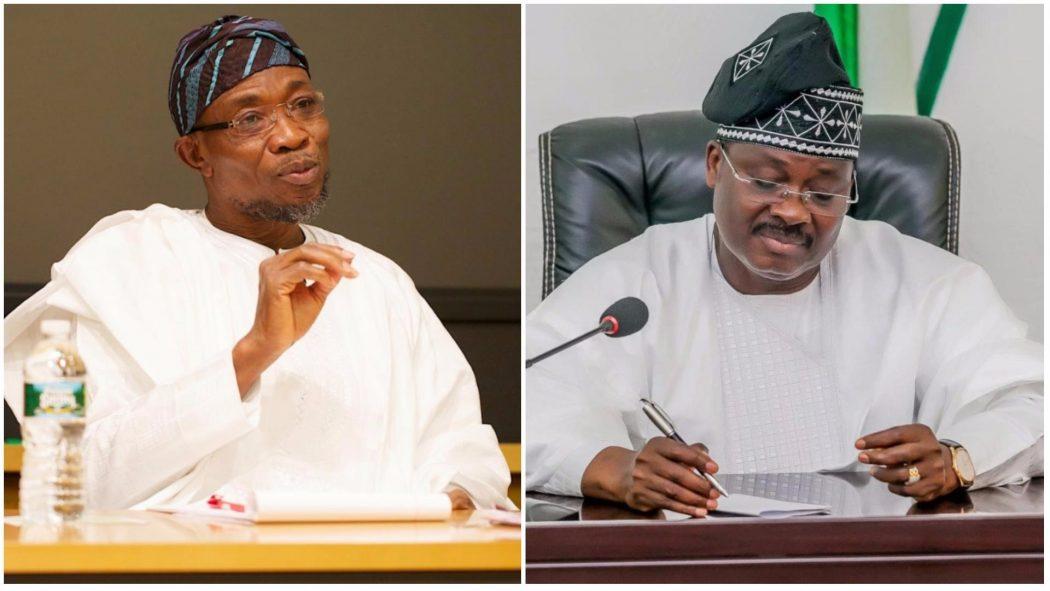 Presidential election: Aregbesola, Ajimobi rejoice with Buhari