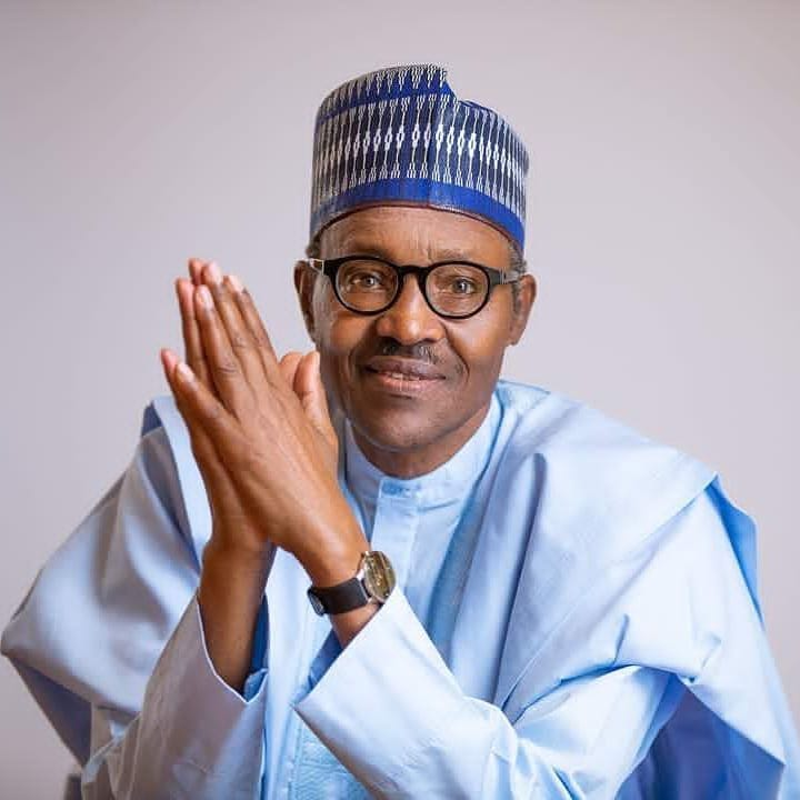 Eid-el-Fitri: Buhari stays at home for prayer, cancels homages