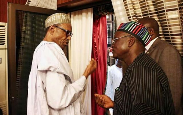 JUST IN: Ortom warns Buhari: Don't do anything that'll truncate Nigeria's democracy