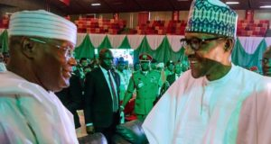 Buhari, Atiku sign peace accord ahead of presidential election, appeal to Nigerians