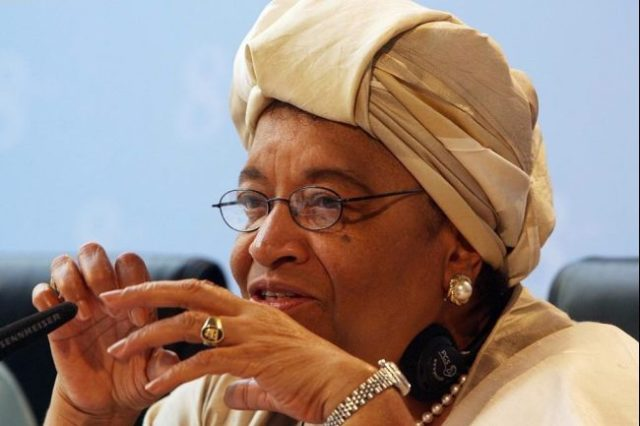 Why I'm in Nigeria for general election -John-Sirleaf, former Liberian president