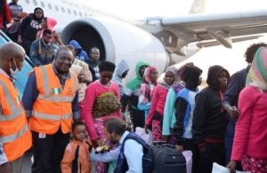 Another batch of 145 stranded Nigerians return from Libya