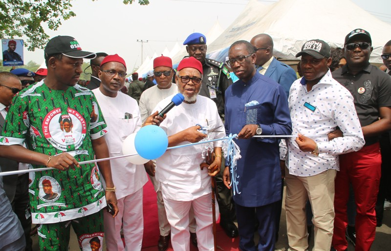 Delta: We're constructing roads to boost economy –Okowa