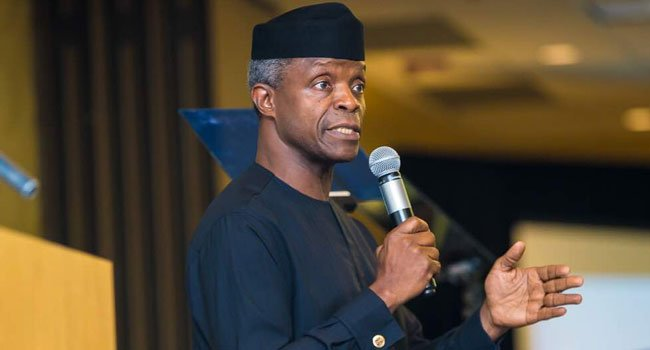 Osinbajo arrives New York on four-day visit