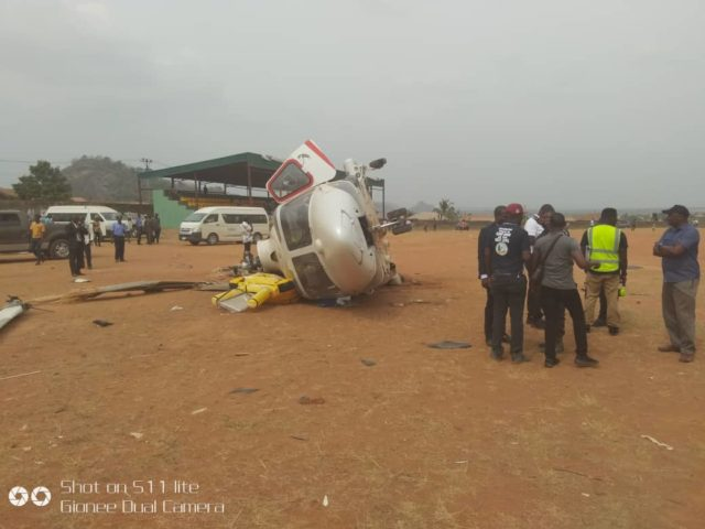 Revealed: Why Osinbajo's helicopter crashed -AIB