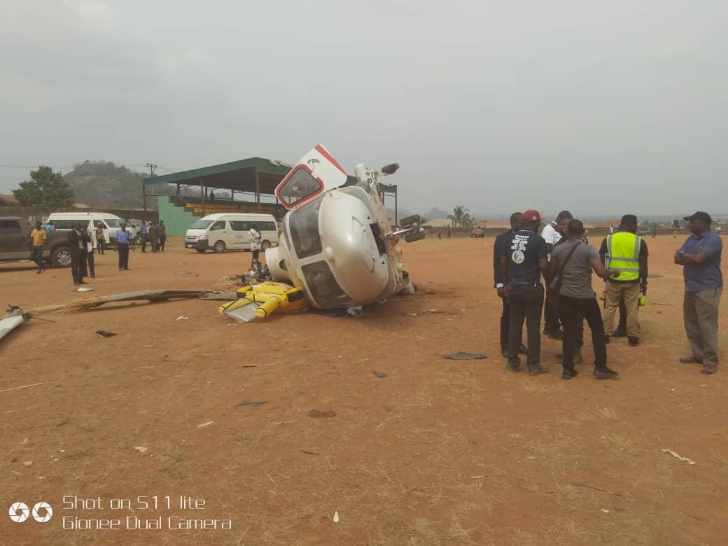 Revealed: Why Osinbajo's helicopter crashed -AIB