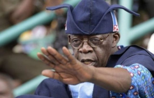 Tinubu speaks on attacks on Buhari, others at APC campaign rally in Ogun