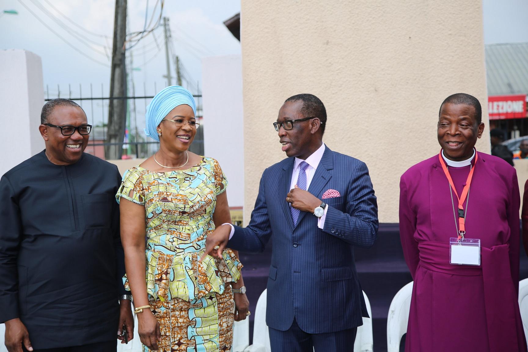 Primate, Obi, Okowa call for credible elections
