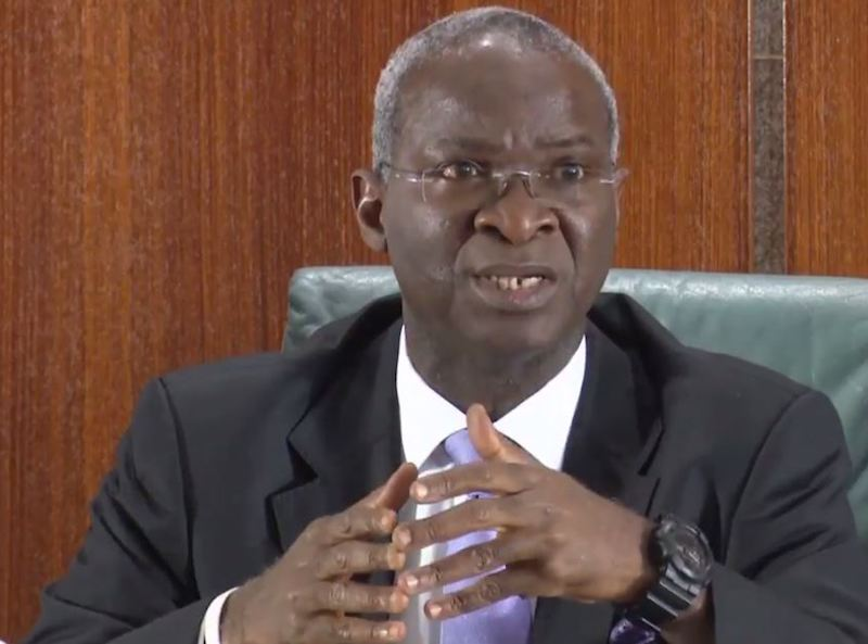 Vehicles parked at highways construction sites will be impounded –Fashola