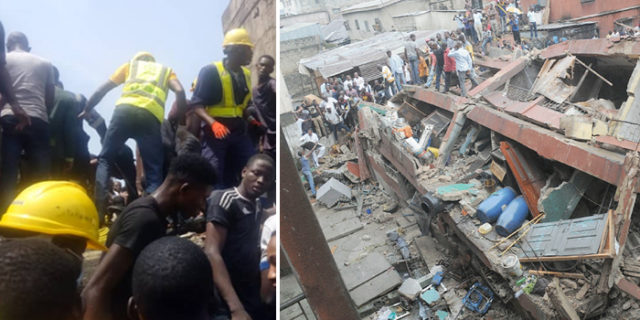 Conflicting death figures as eyewitnesses give accounts of how school building collapsed