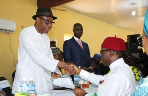 Okowa, Otuaro receive Certificate of Return