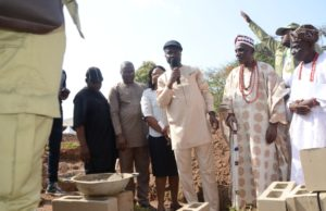 Ondo: NYSC lays foundation stone of clinic, gets assurance of govt's support