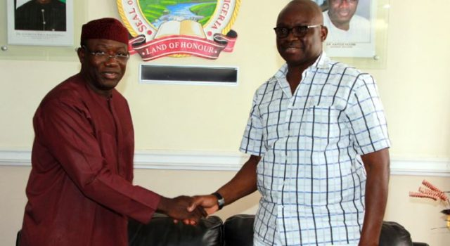Fayose to Fayemi: You have my best wishes for emerging NGF chair
