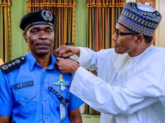 Buhari confirms Adamu as Inspector General of Police