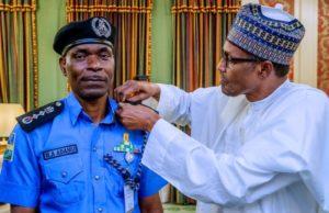 Buhari confirms Adamu as Inspector General of Police