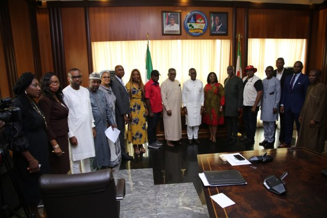 Okowa call for collaborative efforts against Malaria, AIDS, Tuberculosis
