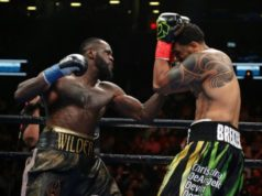 Wilder knocks out opponent in first round, calls out Joshua