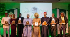 Fayemi's wife shines at Zik Leadership Award