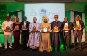 Fayemi's wife shines at Zik Leadership Award