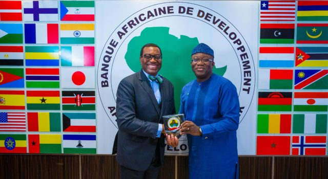 Ekiti seeks AfDB's support for road construction, agric, others