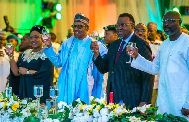 Democracy Day: Buhari hosts world leaders to dinner, gala night